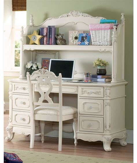kids desk with bookcase homelegance cinderella wood bookcase hutch desk chair