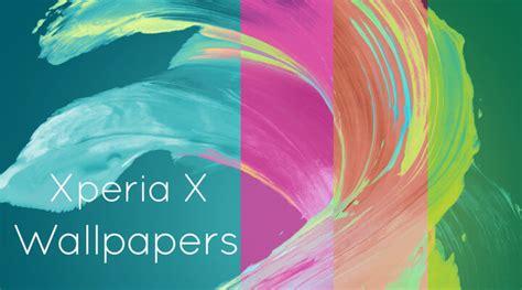感じる「x」、xperia Xシリーズの壁紙を設定してみた