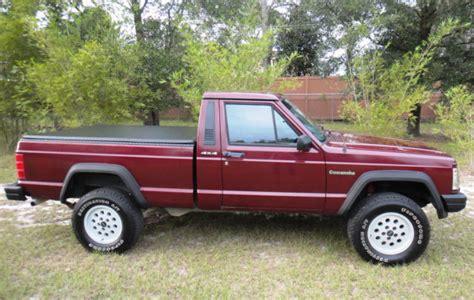 1992 jeep comanche eliminator 4wd pickup truck classic