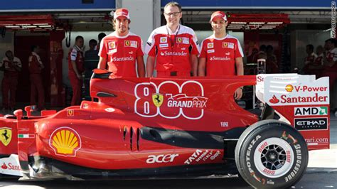 Discover the technical details and info about the f10. Ferrari to commemorate 800th F1 race - CNN.com