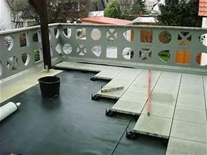Garagendach Abdichten Flüssigkunststoff : dichte balkone und terrassen von dachdecker m ller ~ Watch28wear.com Haus und Dekorationen