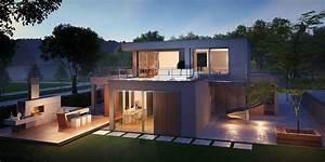 Haus Mit Büroanbau : efh wohnwerk2 ~ Markanthonyermac.com Haus und Dekorationen