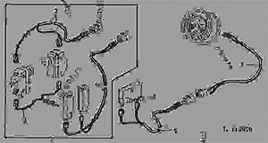 Wiring Harness For Handshift Pto  13  - Tractor John Deere 2040 - Tractor