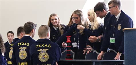 texas ffa news convention workshops cultivate leadership