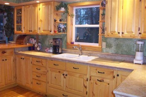 knotty pine kitchen cabinets lowes pinterest the world s catalog of ideas