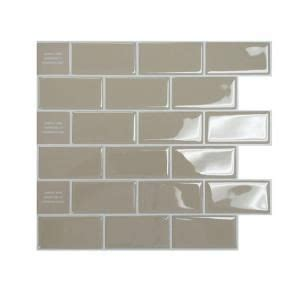 peel and stick subway tile wallpaper 17 images about peel and stick on vinyls