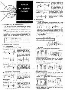 Eric U0026 39 S Slide Rule Manuals Page