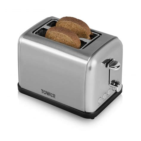 Metal Toaster by 2 Slice Stainless Steel Toaster Toasters