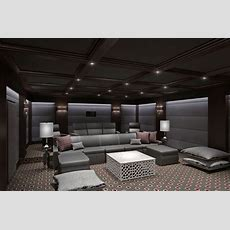 Ct Home Theater  Contemporary  Home Cinema  New York