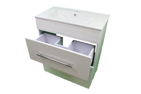 under sink drawers bathroom bathroom cloakroom 700 white sink vanity unit 2 drawer