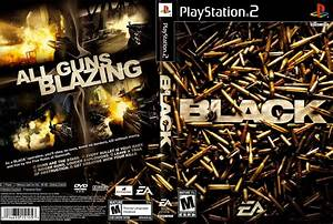 Black Playstation 2 Ultra Capas