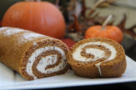 pumpkin cake roll pumpkin cake roll recipe dishmaps