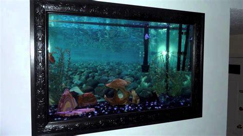 my livingroom leslie jr in wall aquarium project