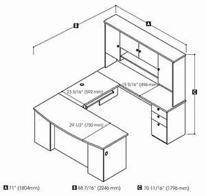 How to Build U Shaped Office Desk Plans PDF Plans