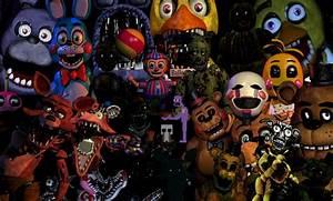 Fnaf Cartoon Characters images