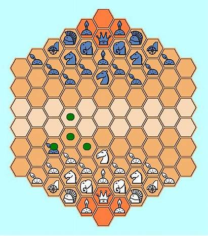 Heroes Chess Hexagonal Version Pawn Enemy Capture