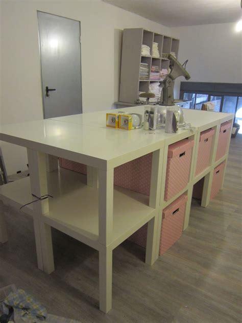 bureau treteau ikea création d 39 une table de découpe pour l 39 atelier couture