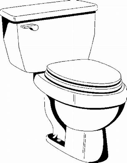 Toilet Bathroom Coloring Pages