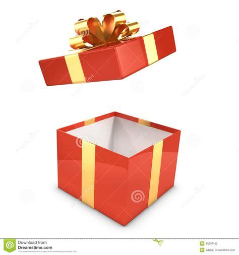 gift box opens stock illustration illustration