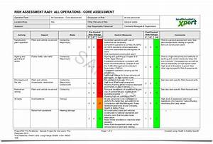 amazing operational assessment template contemporary With operational risk assessment template