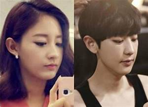 EXO's Chanyeol comments on his sister's bare face selca ...