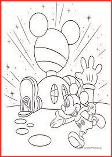 mickey mouse wunderhaus ausmalbilder rooms project