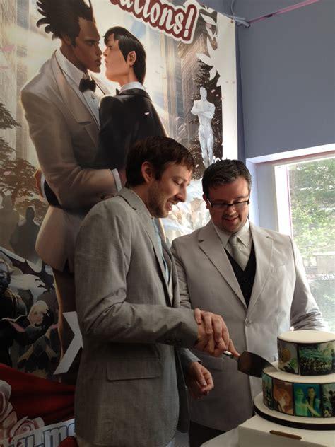 jason welker  scott everharts wedding  midtown