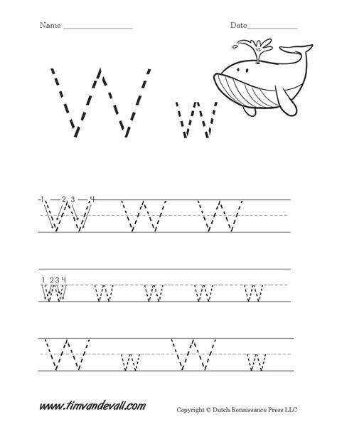 letter w worksheets for preschool letter w worksheet tim de vall 354