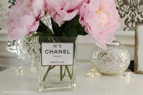 diy chanel  parfum vase     vase home