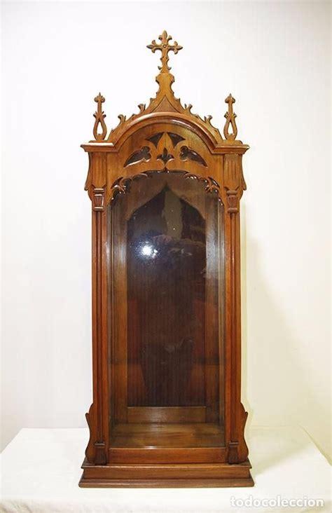hornacina  capilla antigua de madera tallada