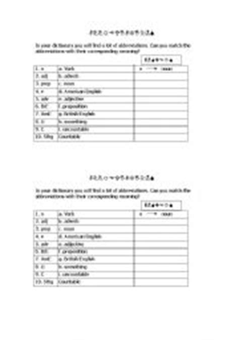 10 best images of cooking abbreviations worksheets kitchen measurement abbreviations worksheet