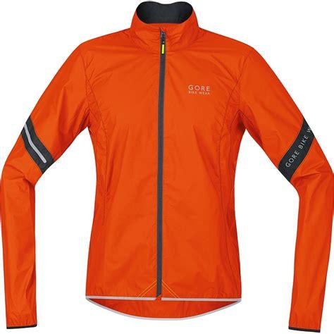 orange cycling jacket gore bike wear power as jacket men 39 s orange s the