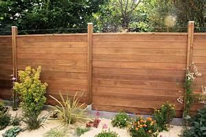 palissade bois et plantations http wwwintegralpaysage With idee deco terrasse jardin 14 cresson plantation taille et entretien