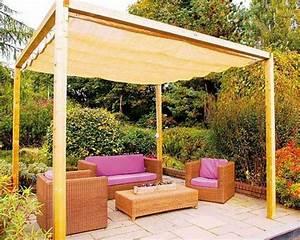 Voile Pour Pergola : les voiles d ombrage pour embellir notre jardin ou balcon ~ Melissatoandfro.com Idées de Décoration