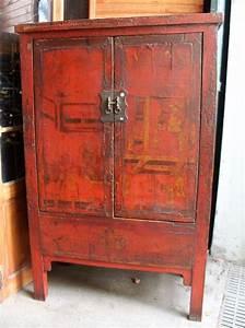 Armoire Ancienne Chinoise Origine Shanxi Puces D39Oc