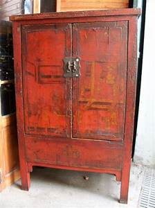 Armoire Deux Portes : armoire ancienne chinoise origine shanxi puces d 39 oc brocante en ligne ~ Teatrodelosmanantiales.com Idées de Décoration