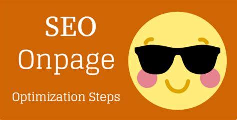 Seo Steps by Seo Onpage Optimization Steps Powerful On Page Strategy