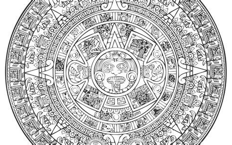 Aztec Calendar Vector [EPS File] Vector EPS Free Download ...