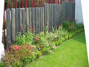 Barre De Schiste : les piquets d ardoise sont utilis s en palissade brise vue all e de jardin bordure ils sont ~ Melissatoandfro.com Idées de Décoration
