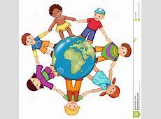 Kinder Der Welt Stockbild Bild 14704001