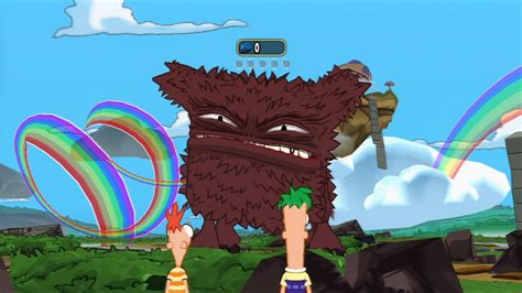 phineas  ferb    dimension video game trailer disney  day