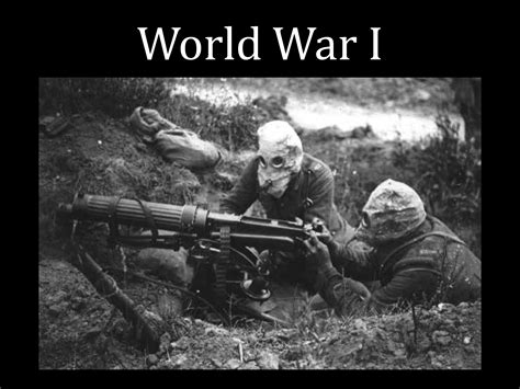 ประวัติสงครามโลกครั้งที่1: เทคโนโลยีต่างๆ ในสงครามโลกครั้ง ...