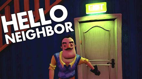 hello neighbor new update shark evasion and new ending