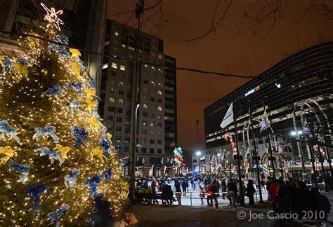 christmas in buffalo ny pictures downtown buffalo tree lighting ceremony buffalo rising