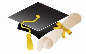 Free Vector Graduation Cap and Diploma | Download Free ...