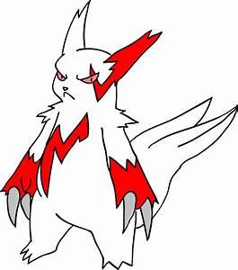 Pokemon Female Zangoose Images | Pokemon Images