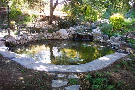 Large Backyard Pond  Pacific Ponds & Design  Custom Pond