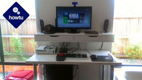 building a gaming desk the standing desk how to build a healthier pc gaming