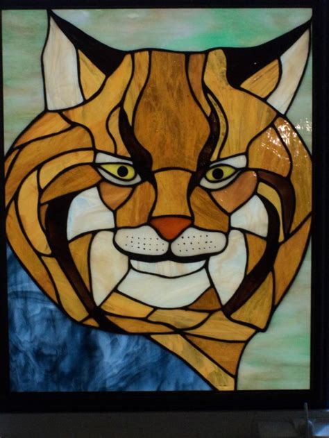 stained glass wild animals  collection  ideas