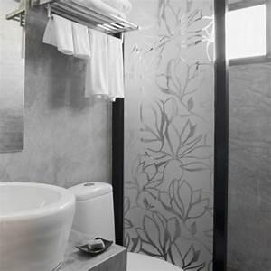 boutique en ligne de stickers depoli occultant pour With salle de bain design avec verre décoratif sur mesure